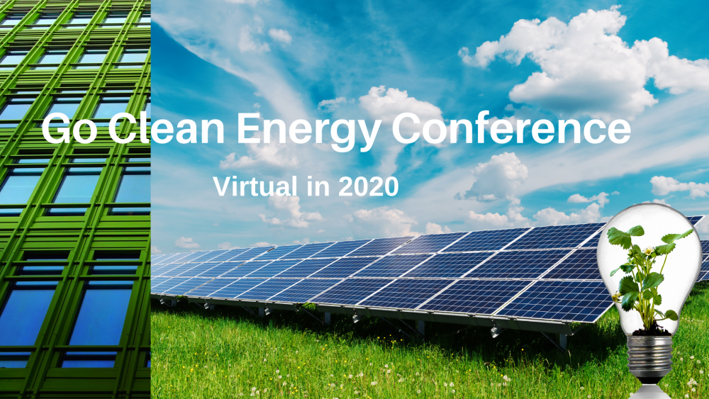 Go Clean Energy Virtual Conference Free in 2020